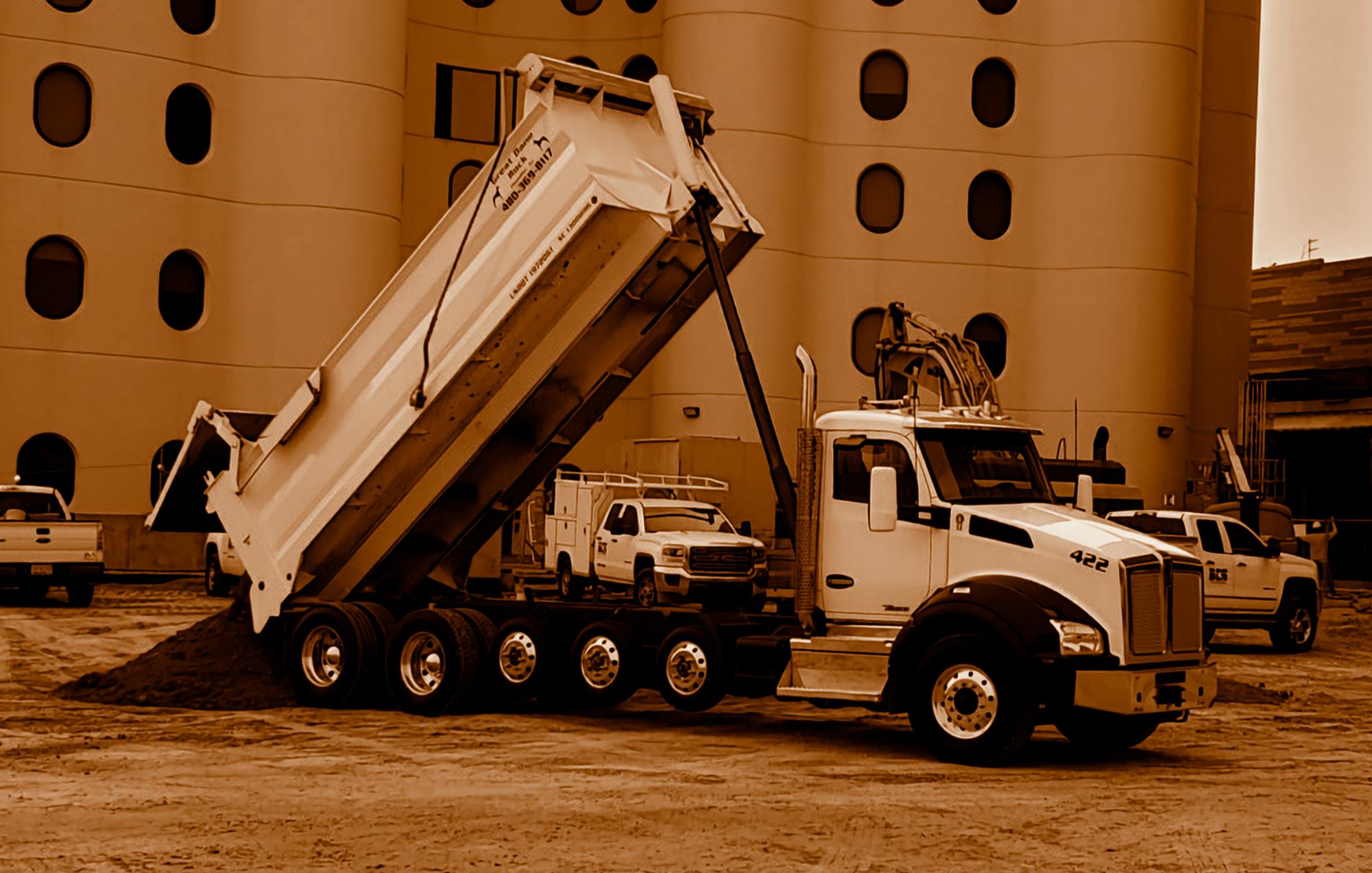 Great Dane Rock Dump Truck