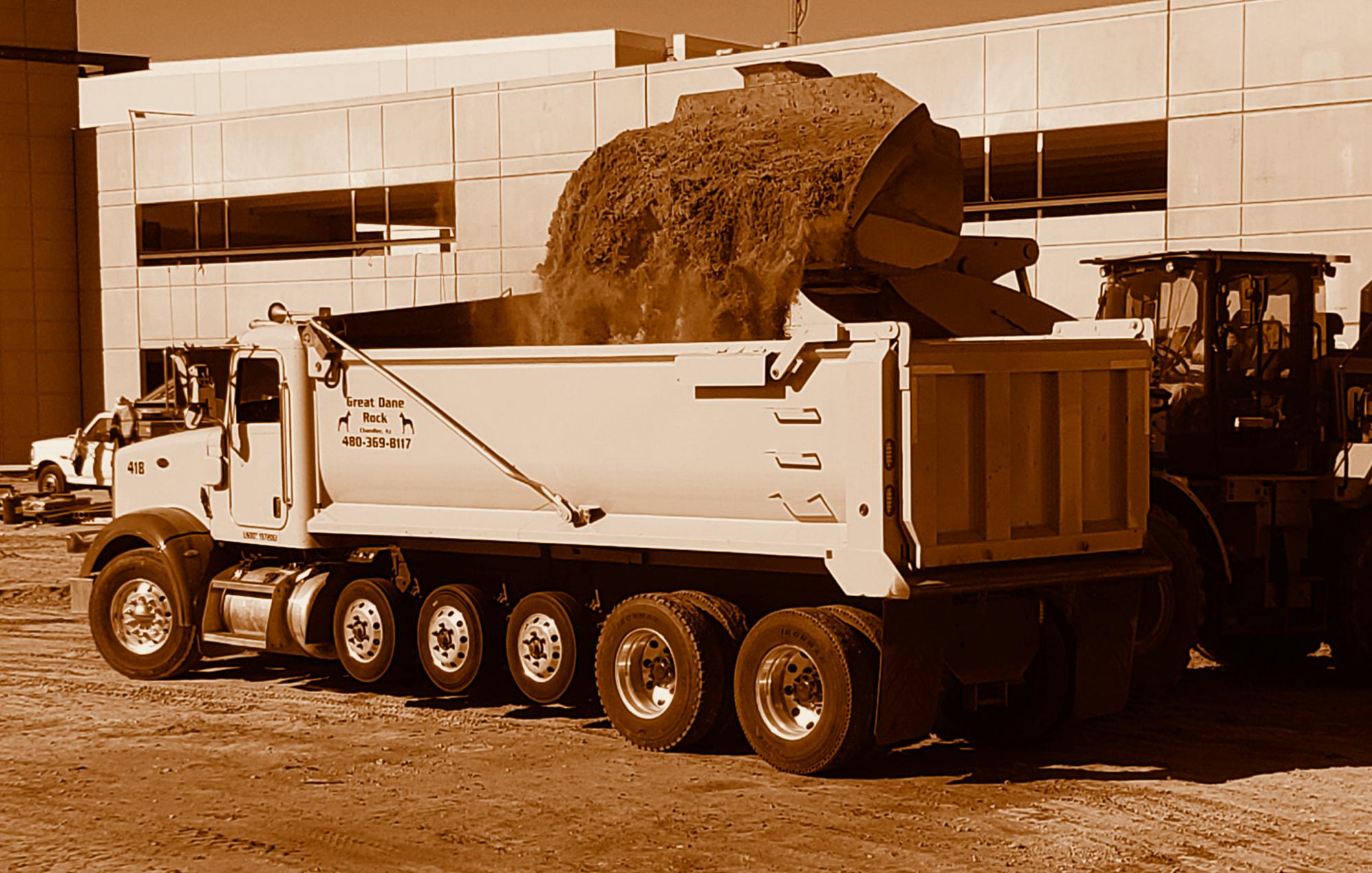 Great Dane Rock, LLC, Dump Truck