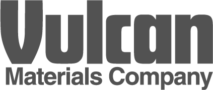Vulcan Material Company Logo Grayscale