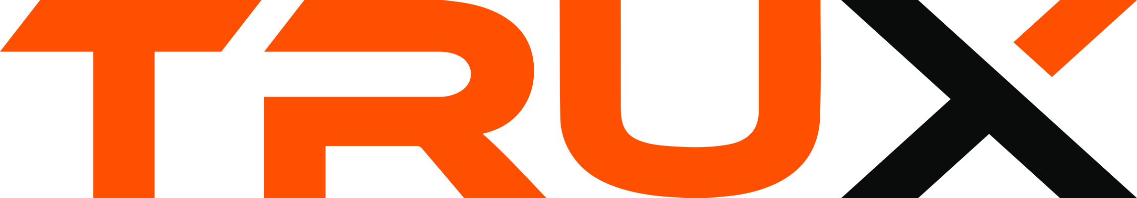 TRUX Logo Orange and Black